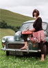 Candace's Morris Traveller in Somerset